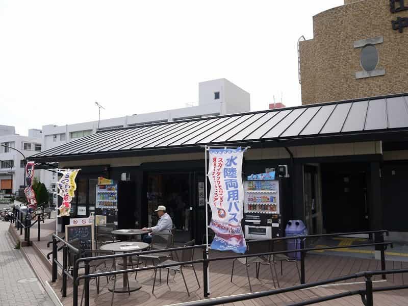 大島小松川公園 旧中川・川の駅 売店・軽食スペース
