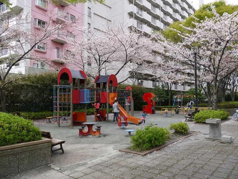 大島小松川公園 季節の広場(南)