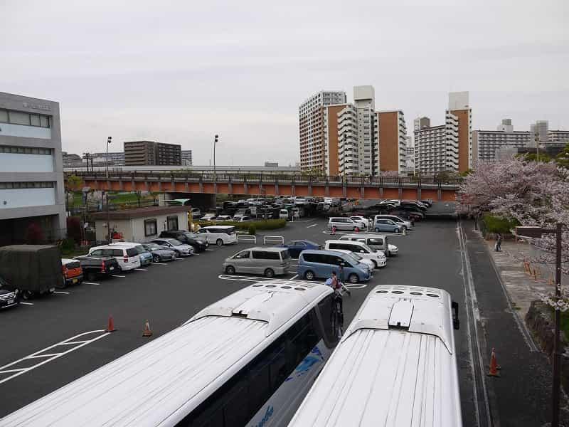 大島小松川公園 駐車場