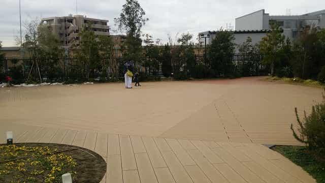 ぐらんぐりんガーデン イベント広場