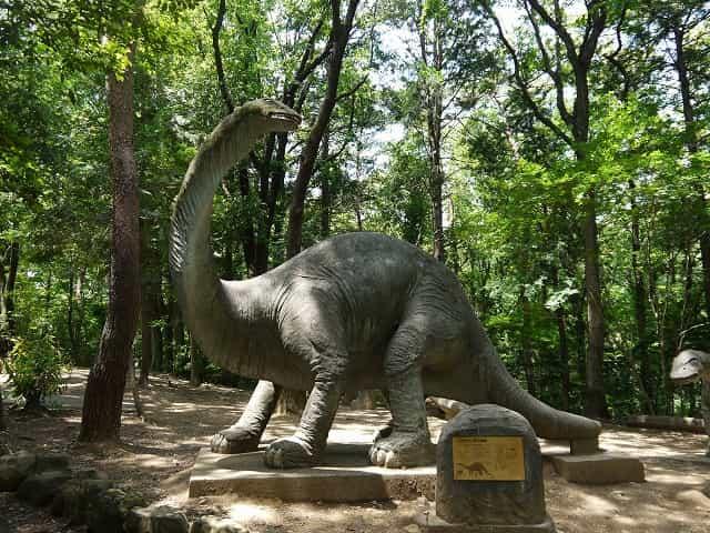 こども動物自然公園 恐竜コーナー