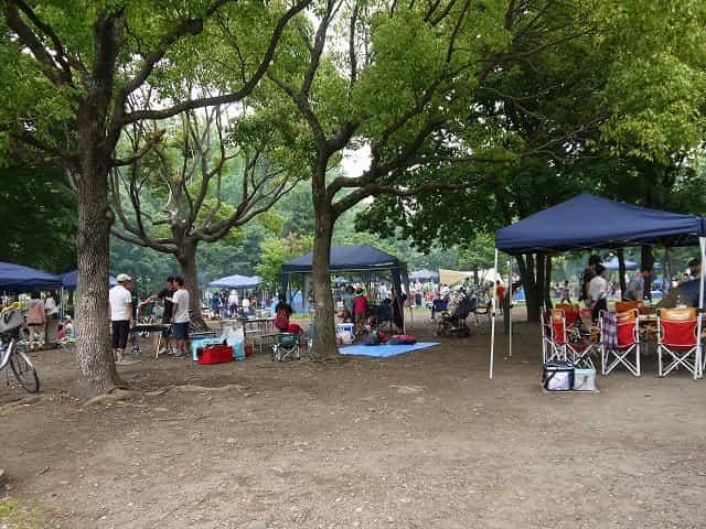 舎人公園 バーベキュー広場