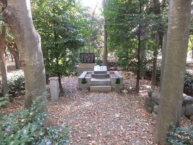 代々木公園 十四烈士の碑