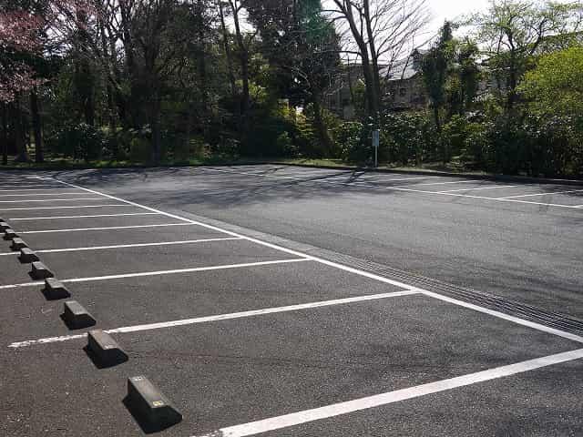 小金井公園 駐車場