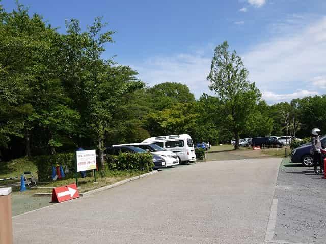 狭山公園  駐車場