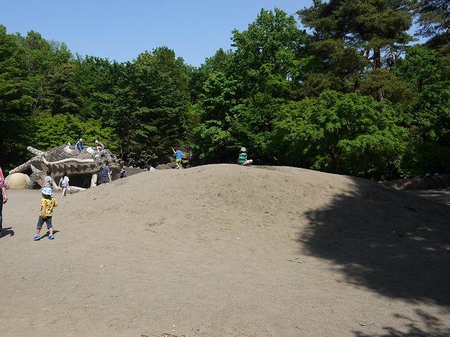 こどもの森 ドラゴンの砂山