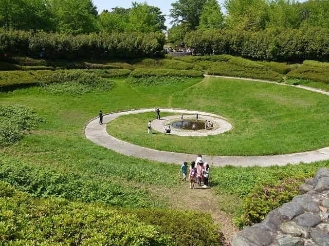 昭和記念公園 こどもの森 地底の泉