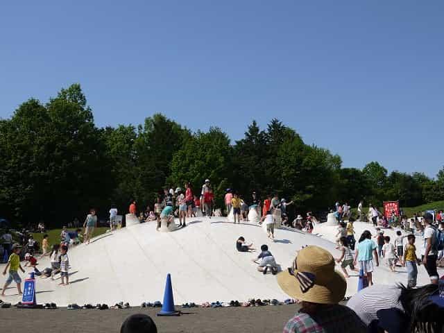 昭和記念公園 こどもの森 雲の海