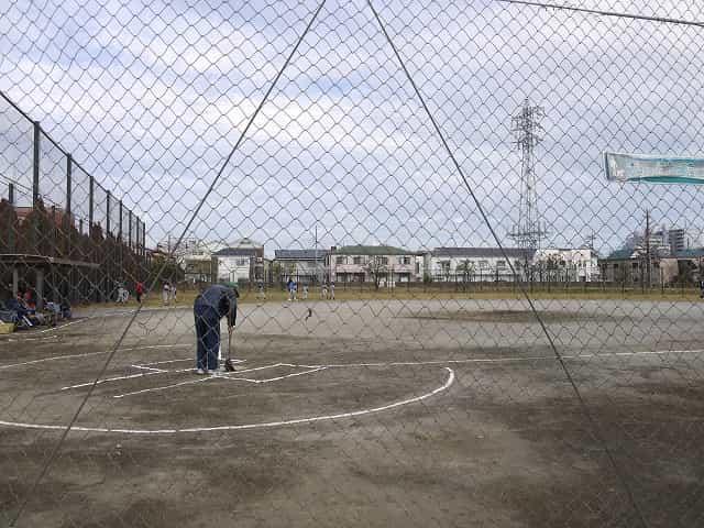 宇喜田公園 少年野球広場