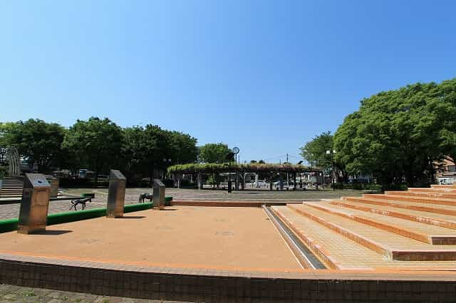 大泉中央公園 水の広場