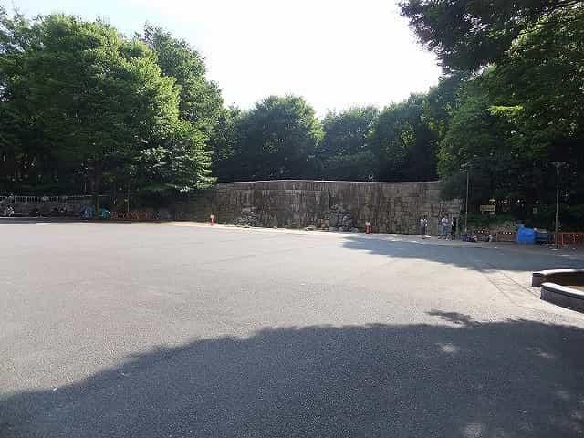 新宿中央公園 水の広場