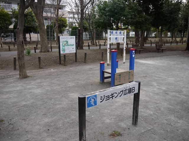 戸山公園(大久保地区) ジョギング広場