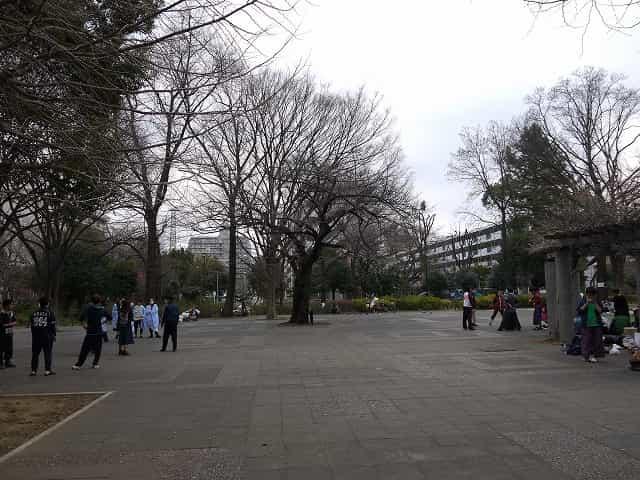 戸山公園(大久保地区) つどいの広場