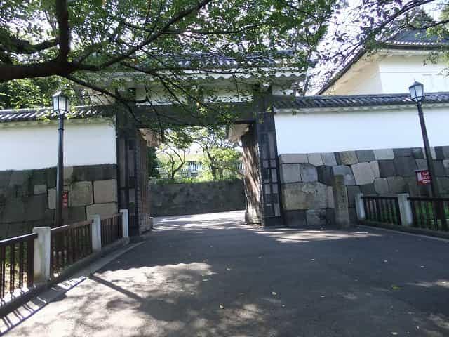 北の丸公園 田安門