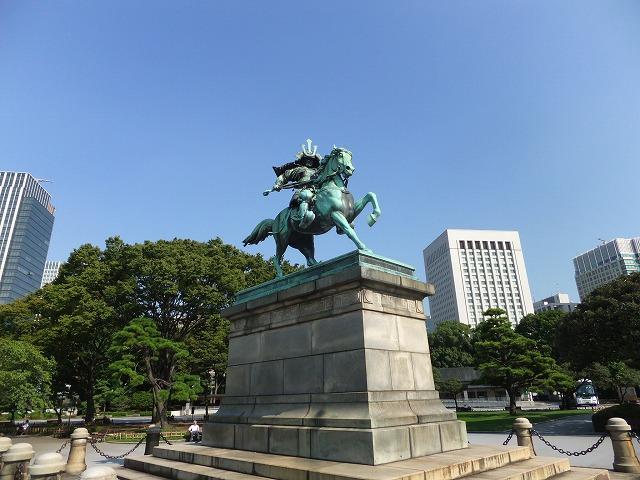 皇居外苑 楠公像