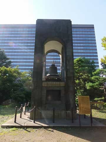 日比谷公園 自由の鐘