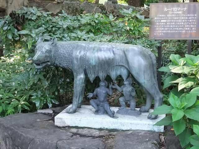 日比谷公園 ルーパロマーナ(ローマの牝狼)