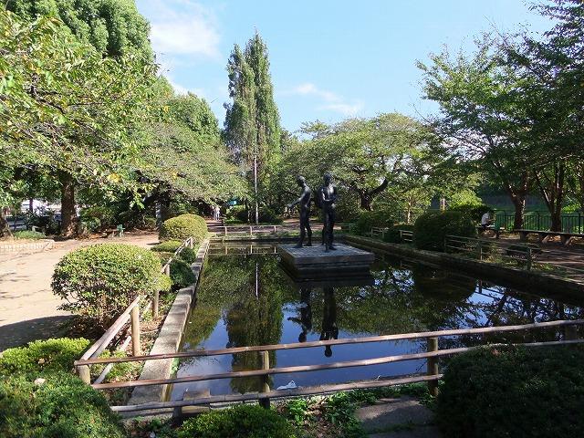 千鳥ヶ淵公園 オブジェ