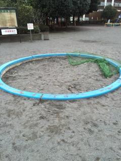 東林間公園 砂場もあります!お家からおもちゃを持ってきて遊ぶのもありです!