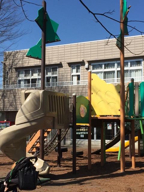 林間公園 5)東林ふれあいセンターと、隣接しており、新しい遊具も設置されました!センター内にはトイレも完備されているので小さいお子さんと遊びにくるママ、パパは大助かりですね!