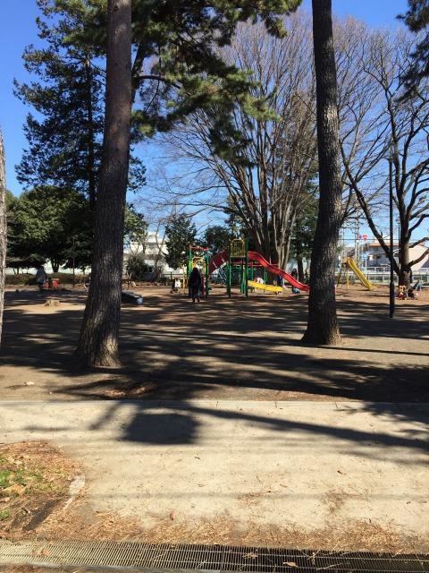 松蔭公園 広々公園!公園の周りはフェンスで囲まれているのでママも安心ですね★