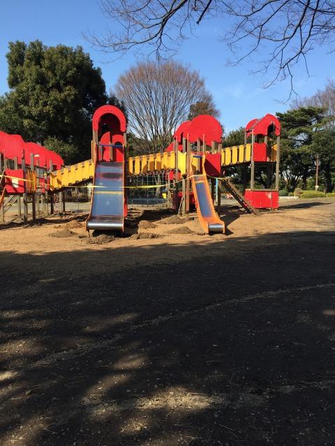 相模大野中央公園 遊具も大きいのがあります!しっかり遊具で安心です!