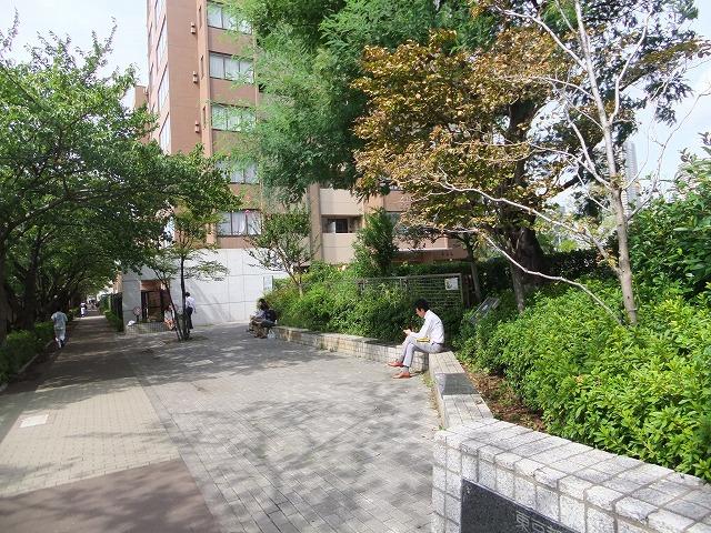 目黒川田道街かど公園