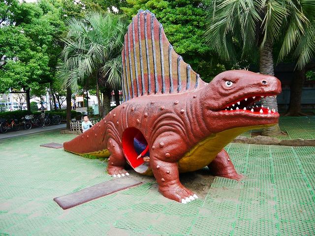 子供の広場(総合レクリエーション公園)の恐竜