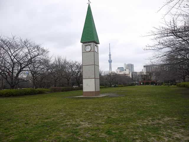猿江恩賜公園 時計塔